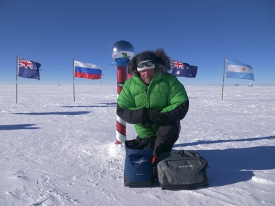 Rob in the south pole